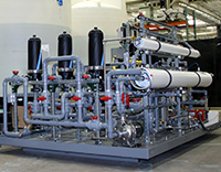 CTC's in-house water evaluation test system