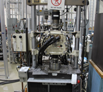 Mechanical test system 50 kip load capacity, 3100°F max temperature