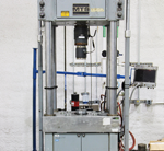 Mechanical test system 200 kip load capacity, 2200°F max temperature